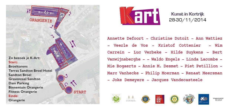 K-art - Kunst in Kortrijk