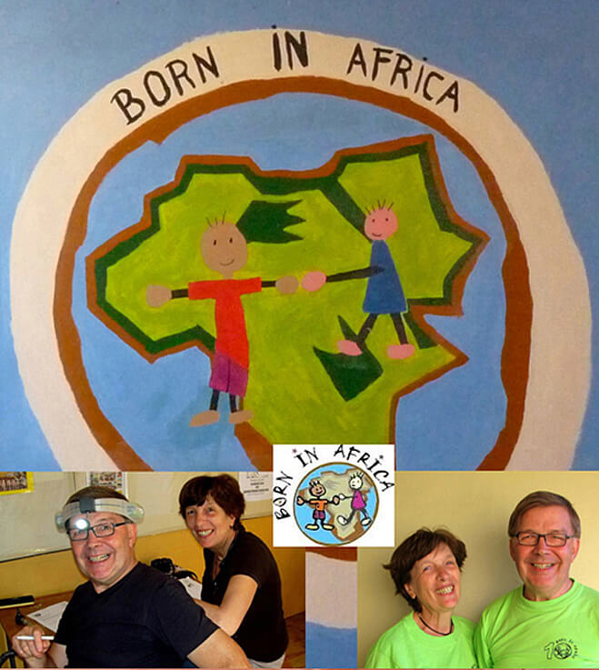 Dr Edwin Demuynck Born in Africa