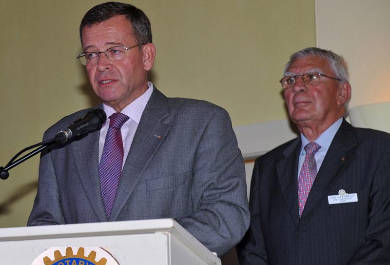 Mr. Luc Fauquette &  Mr. José Claerhout
